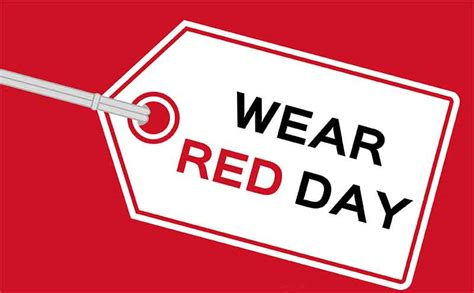 Wear Red Day | Events | UNISON National