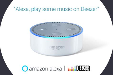 Deezer music streaming service now supports Alexa voice