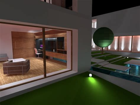DIALUX EVO 7 HOME SIMULATION by Marly Espuny at Coroflot