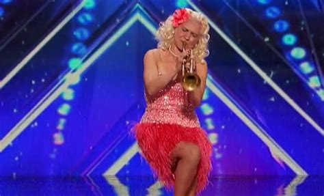 Jazz Trumpeter Gunhild Carling on AGT Plays 3 Trumpets At Once